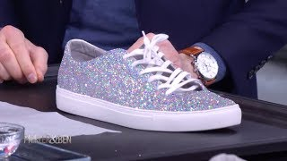Make Your Shoes Sparkle with Glitter! - Pickler & Ben