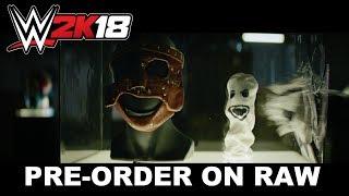 WWE 2K18 Pre-Order en Raw #2