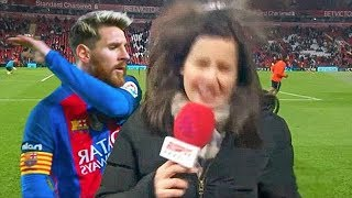 Football Players Trolling & Mocking Journalists / Reporters ● Messi, Ronaldo, Zlatan [2018] Fails