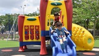 El barrio Campo Alegre estrena el parque de Los Sueños