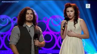 Chris Medina sings duet with a 16th years old Norwegian Girl