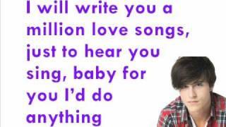 Shane Harper - One Step Closer (Lyrics)