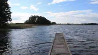 Jezioro Moj, dzika plaża: tu odpoczywam :-)