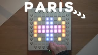 The Chainsmokers - PARIS (Beau Collins Remix)   Launchpad Cover [SBC, KOGI Remake]
