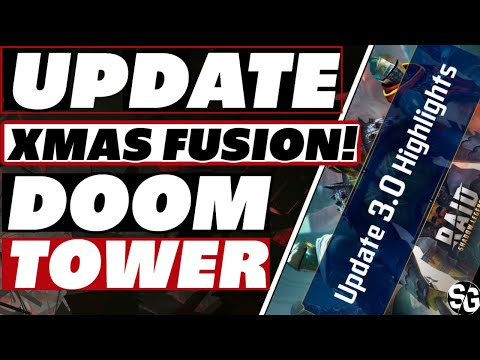 UPDATE 3.0 Next week? + Tower / Xmas fusion details Raid Shadow Legends update 3.0 patch notes