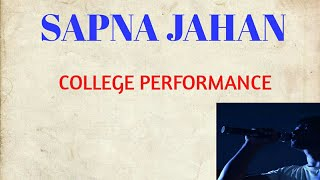 Sapna Jahan - Brothers | Akshay Kumar | Jacqueline Fernandez | KGEC MUSIC CLUB |