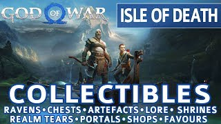 God of War - Isle of Death All Collectible Locations (Ravens, Chests, Artefacts, Shrines) - 100%