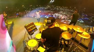 "Charly Black feat. Maluma - Party Animal Remix (Live DrumCam) Miguel Ortiz ""Titi"""