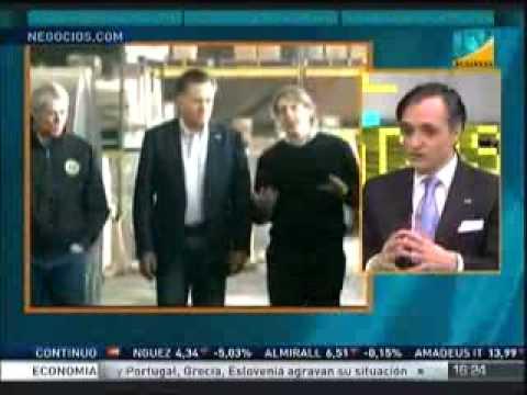 Entrevista a Jorge Díez-Cardiel en Cierre de Mercados - Intereconomía TV