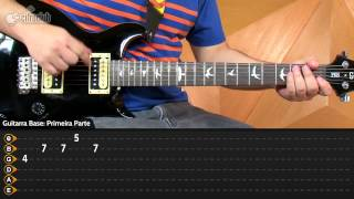 Videoaula Somewhere I Belong - Linkin Park (aula de guitarra)