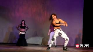 sunny leone's baby doll dance performance by iit delhi girls width=