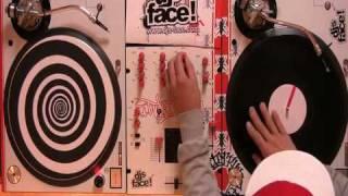 """DJ Qbert Test Runs the new """"TRIP MATS"""""""