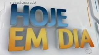 """Nova vinheta do """"Hoje em Dia"""" da Rede Record (2011)"""