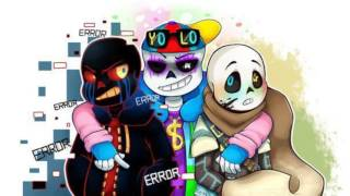 ET(nightcore)-Error sans x Inks sans