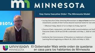 Shelter in Place order for Minnesota