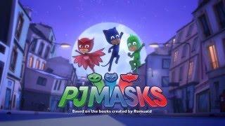 PJ Masks Super Pigiamini - Un coraggioso terzetto di eroi
