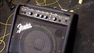 A Look at the Fender Bassman 25 Watt Bass Amplifier