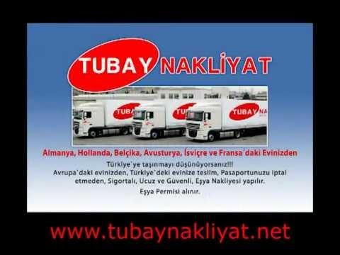 TUBAY Nakliyat - Almanyadan Türkiyeye Nakliyat Nakliye Fiyatlari