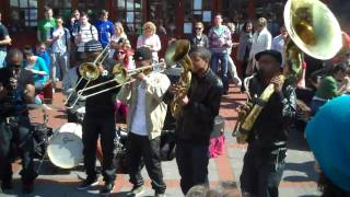 Hypnotic Brass Ensemble - War - UL Courtyard