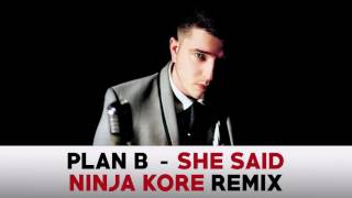 Plan B -  She Said (Ninja Kore Remix)