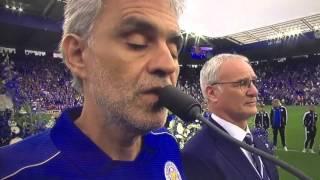 Andrea Bocelli-Con te partirò LIVE Leicester City Stadium 07/05/2016