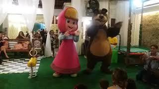 Personagem Vivo - Masha e Urso - RJ