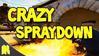 CS:GO - CRAZY Spraydown!