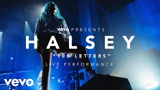Halsey - 100 Letters (Vevo Presents)