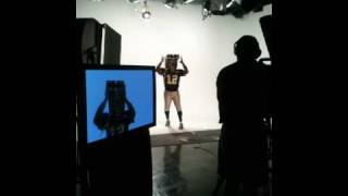 Black and Gold Super Fans Video Shoot - Whistle Monsta