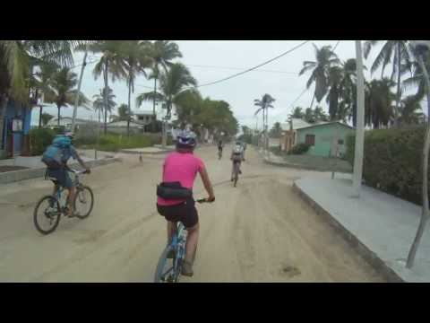 cycling through Isabela, Galapagos