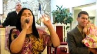 DARLENE MELENDEZ singing in church on Sunday 10/24/10 PART 2