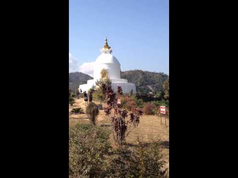 World Peace Pagoda | Pokhara | 12.26.2012
