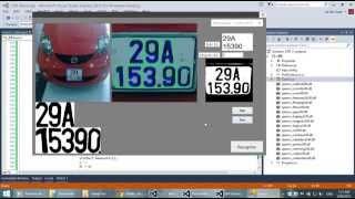 License plate recognition - C# Full code - EmguCV - (nhận dạng biển số xe)
