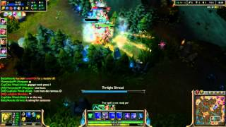 Akali, trying to save my mate, (Gold Failers)