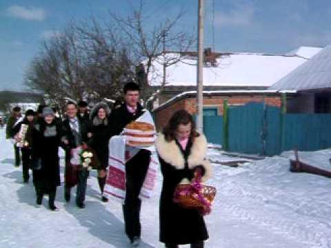Wedding Procession – Ukraine- Zalishchyky area