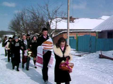 Wedding Procession – Ukraine- Zalishchyky area