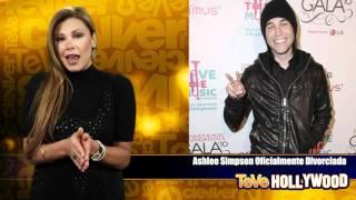 Ashlee Simpson oficialmente divorciada!