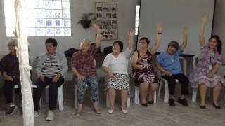 Dança Sênior na Festa junina do Centro de Convivência da ANOSCAR