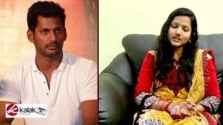 Trichy fans is fiery with Vishal