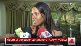 Muere el boxeador cartagenero 'Rocky' Valdez