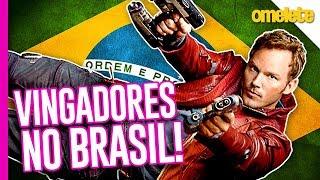 VINGADORES: GUERRA INFINITA NO BRASIL!