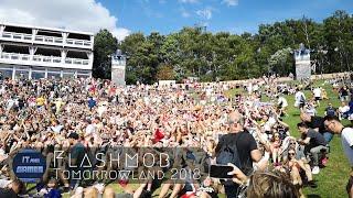 Flashmob at Tomorrowland Mainstage 2018 | Weekend 2