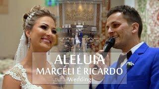Noivo canta ALELUIA - Ricardo e amigos cantam em homenagem surpresa para a noiva Marcéli