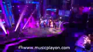 David Guetta   Where Dem Girls At feat  Flo Rida & Nicki Minaj On America's Got Talent Live 2011 MusicPlayOn com