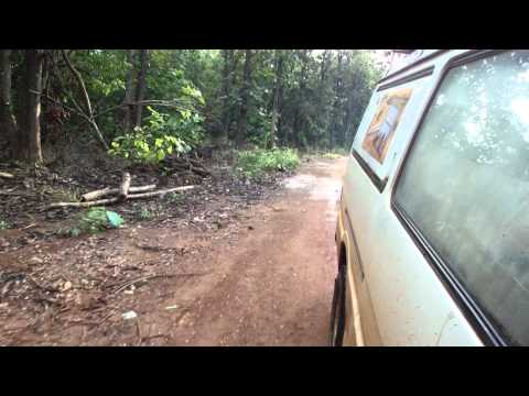 Road from Juba to Yei in South Sudan Africa 16