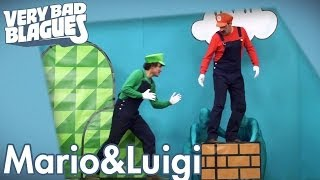 Quand on est Mario et Luigi - Palmashow