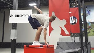 Freeze Frame Football Battle | Dude Perfect width=