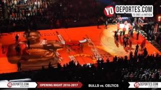 Chicago Bulls new intro Opening Night 2016-2017 Season