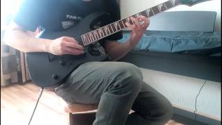 Iron Maiden - Sign of the Cross Solo (Cover)