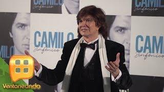 Camilo Sesto reaparece para presentar su nuevo disco pero ¡no dijo ni una palabra a la prensa!